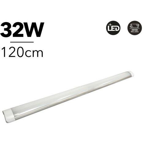 Réglette LED 120 cm 32W 2800lm 4000K IP20 | Blanc Neutre