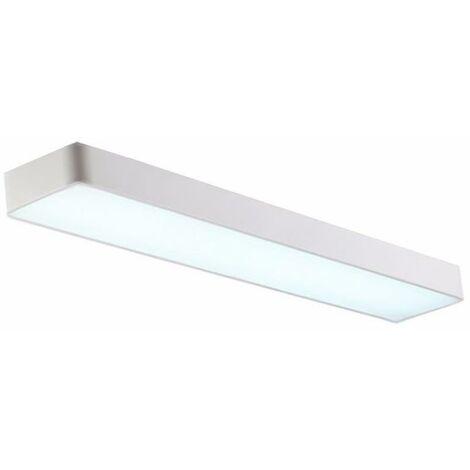Réglette LED 120cm 45W Suspendue BLANC