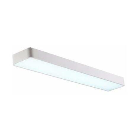 Réglette LED 120cm 45W Suspendue BLANC (Pack de 10)
