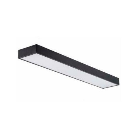 Réglette LED 120cm 45W Suspendue NOIR (Pack de 10)