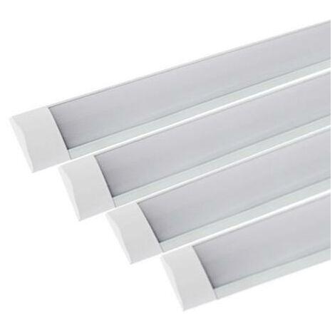 Réglette LED 120cm 48W (Pack de 4)