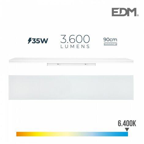 REGLETTE LED 35W 90cm 6400K LUMIERE FROIDE 3600 Lm