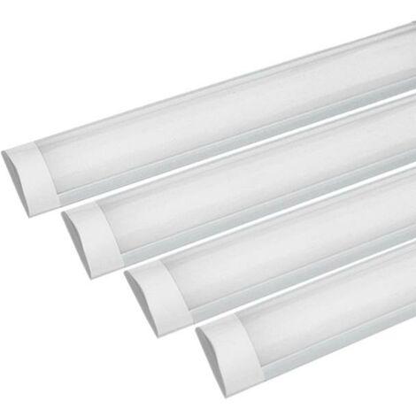 Réglette LED 60cm 18W (Pack de 4)