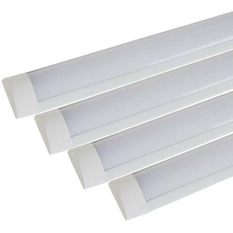 Réglette LED 60cm 24W (Pack de 4)