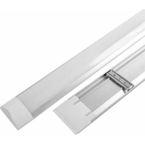Réglette LED de bureau 10W 30cm 800lm - Blanc Chaud 3000K