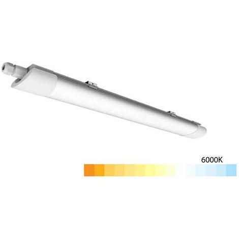 Réglette LED étanche 18W étanche IP65 65cm