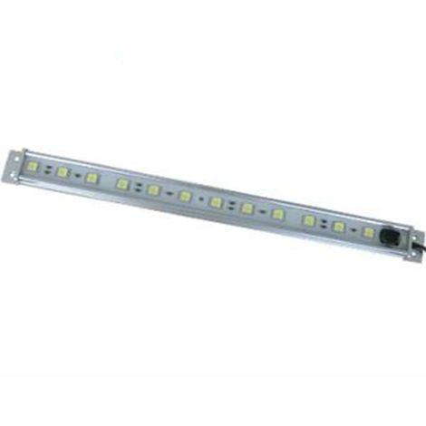réglette led étanche 3w 30cm avec interrupteur | blanc chaud (2700k