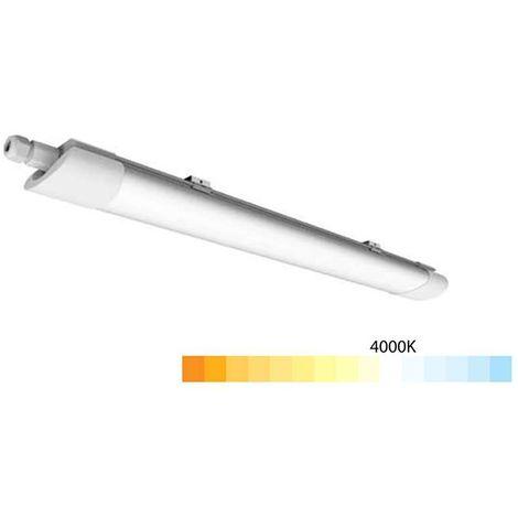 Réglette LED étanche 60cm 20W 1600lm