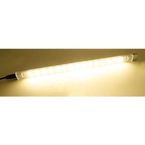 Réglette LED prolongeable 3W 30cm