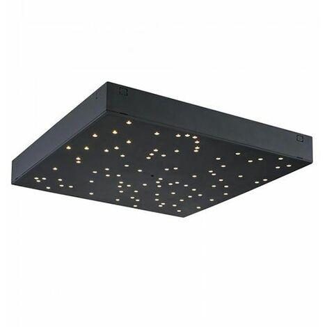 Réglette LED V-TAC Carré 8W Effet de ciel étoilé et Telecommande 3 in 1 IP20 Dimmerabile