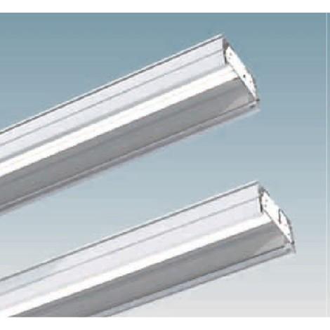 Réglette plafonnier T5 2+2x54w blanche 2238x180x86mm en ligne continue gamme 1945 Speed T5 DISANO 124602