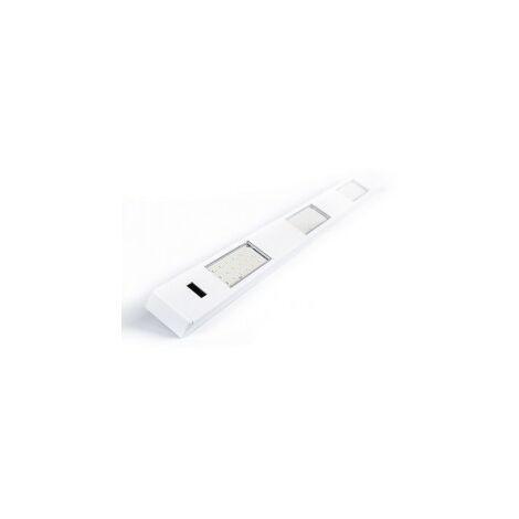 Réglette pour Cuisine ALBAN LED avec Hand Sensor - Aluminium Blanc - Led intégrée 3x2W 600Lm 4000K - IP20 CLII