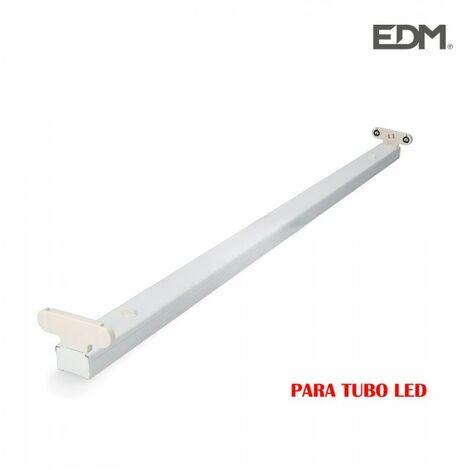 RÉGLETTE POUR TUBE LED 2X18W (EQ 2X36W) 123CM -