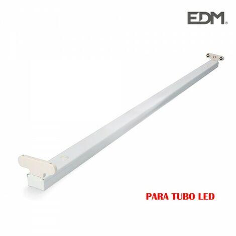 Réglette pour tubes led 2x22w (eq 2x58w) 153cm edm