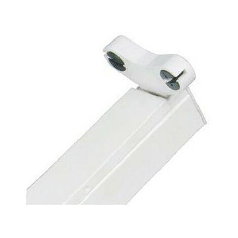 Réglette pour tubes LED T8 double - Non étanche - 1200 mm