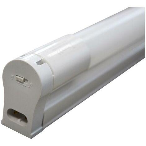 Réglette simple + Tube LED T8 22W 1200 mm
