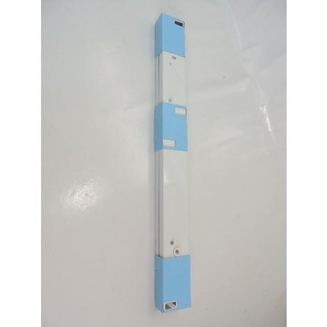 Réglette tube fluo T5 1X14W (non incl) clipsable 574mm système d'éclairage continu blanc sans alim PANTHER TRAJECTOIRE 545001
