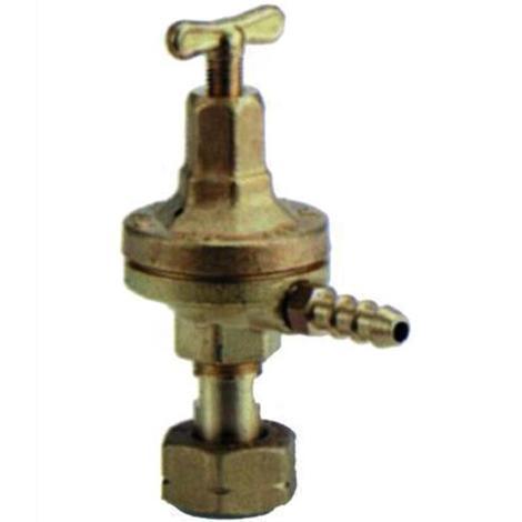 Regolatore Alta Pressione Ottone Per Gas Liquido Bar 0-4