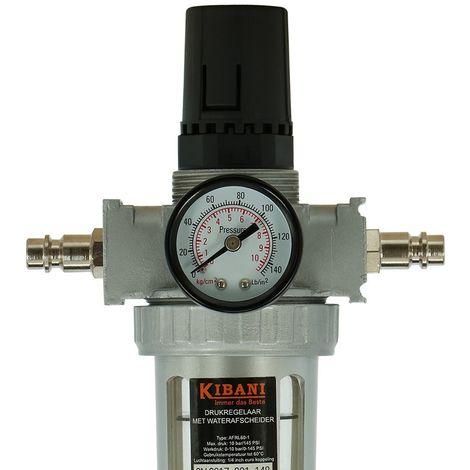 Regolatore di pressione compressore con filtro dell'aria