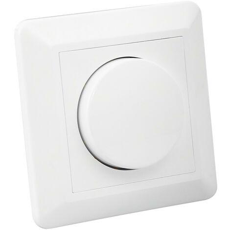 Regolatore Interruttore Commutatore Universale LED Triac Bianco