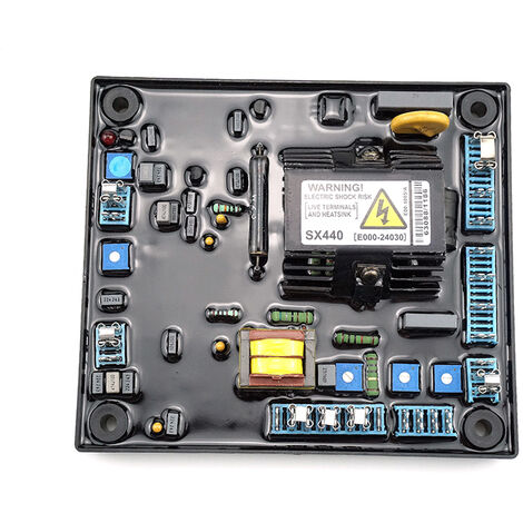 Regulador automatico de voltaje, reemplazo para componentes electronicos, para SX440