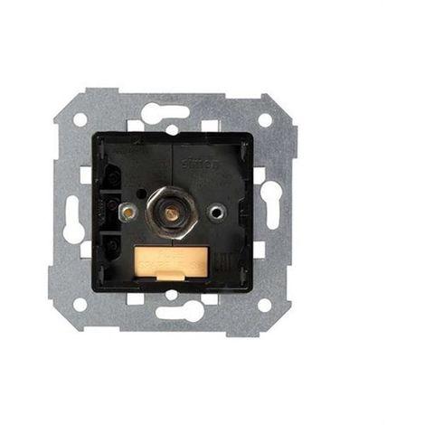 Regulador-conmutador electrónico de luz giratorio de 450W Simon 7501313-39