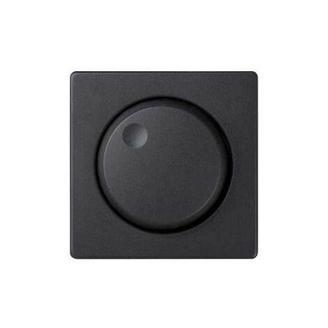 Regulador conmutador electronico giratorio Simon 82 Negro