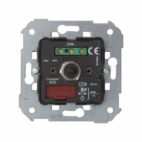 Regulador conmutador universal 500w/va Simon 75319-039