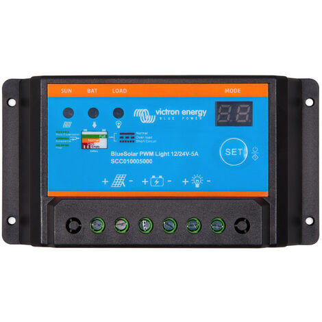 Regulador de carga Victron 12V / 24V 5A
