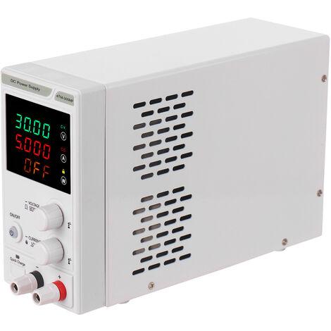 Regulador de energia de la fuente de alimentacion de 220V 0-30V 0-5A DC, mini fuente de alimentacion regulada
