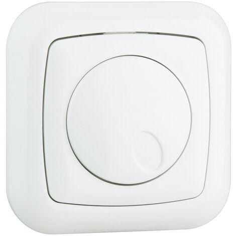 Regulador de luz empotrable de 20W a 300W para Led o CFL regulables (Electro DH 36.530/REG )