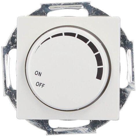 Regulador de luz por giro de empotrar 56x56mm