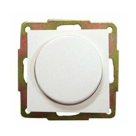Regulador de luz por giro de empotrar blanco GSC
