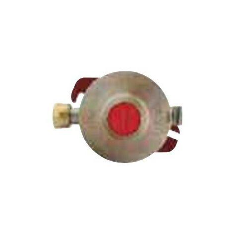 Regulador de presión de propano fijo 4Kg/h 50 mbar tuerca de botella
