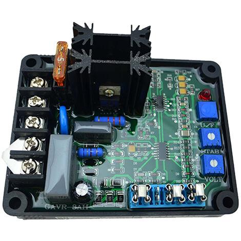 Regulador de voltaje automatico Modulo de reguladores de excitacion sin escobillas GAVR-8A, para generador AVR universal