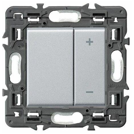 Regulador Legrand 741354 serie Valena Next color aluminio
