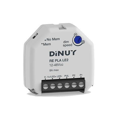 Regulador para tiras de LED monocolor DINUY RE PLA LE2
