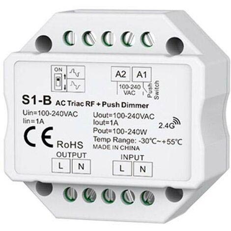 Regulador TRIAC Dimmer 220V, RF-multifunción