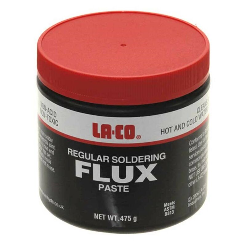 Image of LACO Soldering Flux Large Tub 475g Non Acid WRAS approved - La-co