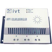 Régulateur de charge solaire IVT MPPT-Controller 12 V, 24 V 20 A