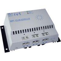 Régulateur de charge solaire IVT MPPT-Controller 12 V, 24 V 30 A