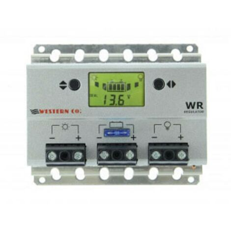 Régulateur de charge solaire Western Co. WR20 10243 PWM 12 V, 24 V 20 A 1 pc(s)