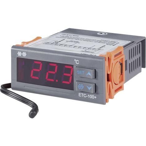 Régulateur de température VOLTCRAFT ETC-100+ 196979 NTC10K -40 à +120 °C Relais 10 A 1 pc(s)