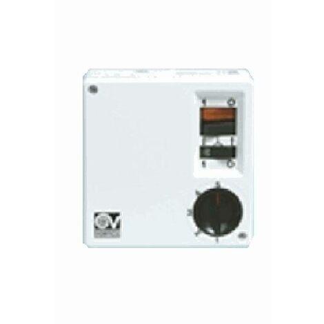 Vortice SCRR5 12966 Variateur de vitesse mural avec interrupteur pour ventilateur de plafond sans /éclairage climatiseur mobile 1,5 A