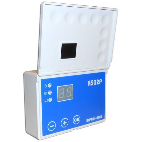 Régulateur électronique RS02P, avec sondes pour systèmes solaires thermiques