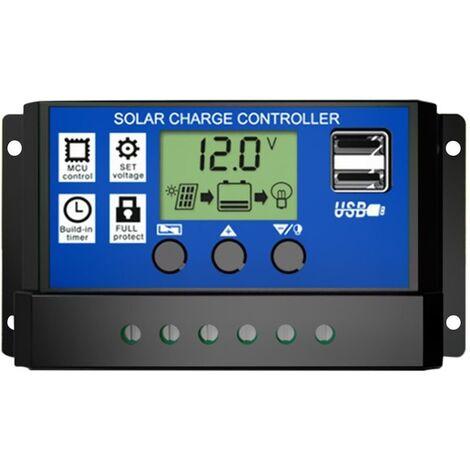 Régulateur solaire et éolien