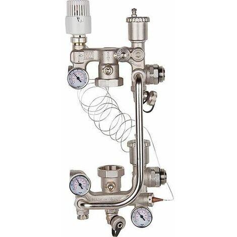 Regulation au sol Evenes Combimix 2 pour 180 mm 20-60°C sans by-pass
