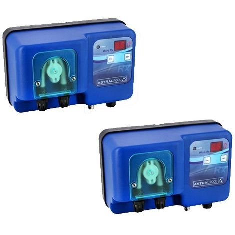 Pack pompes doseuses Micro pH + Micro RX de Astralpool - Régulation piscine