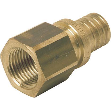Rehau 11690931001 - connection straight diameter 16-15x21 female brass