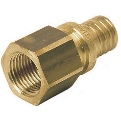"Rehau 137663-001 - connection straight female 25 - 3/4""F brass"